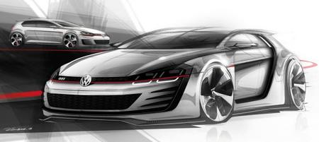 "VW ""Design Vision GTI"", un Golf de 503 CV"