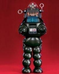 Robby, el robot de la película Planeta prohibido