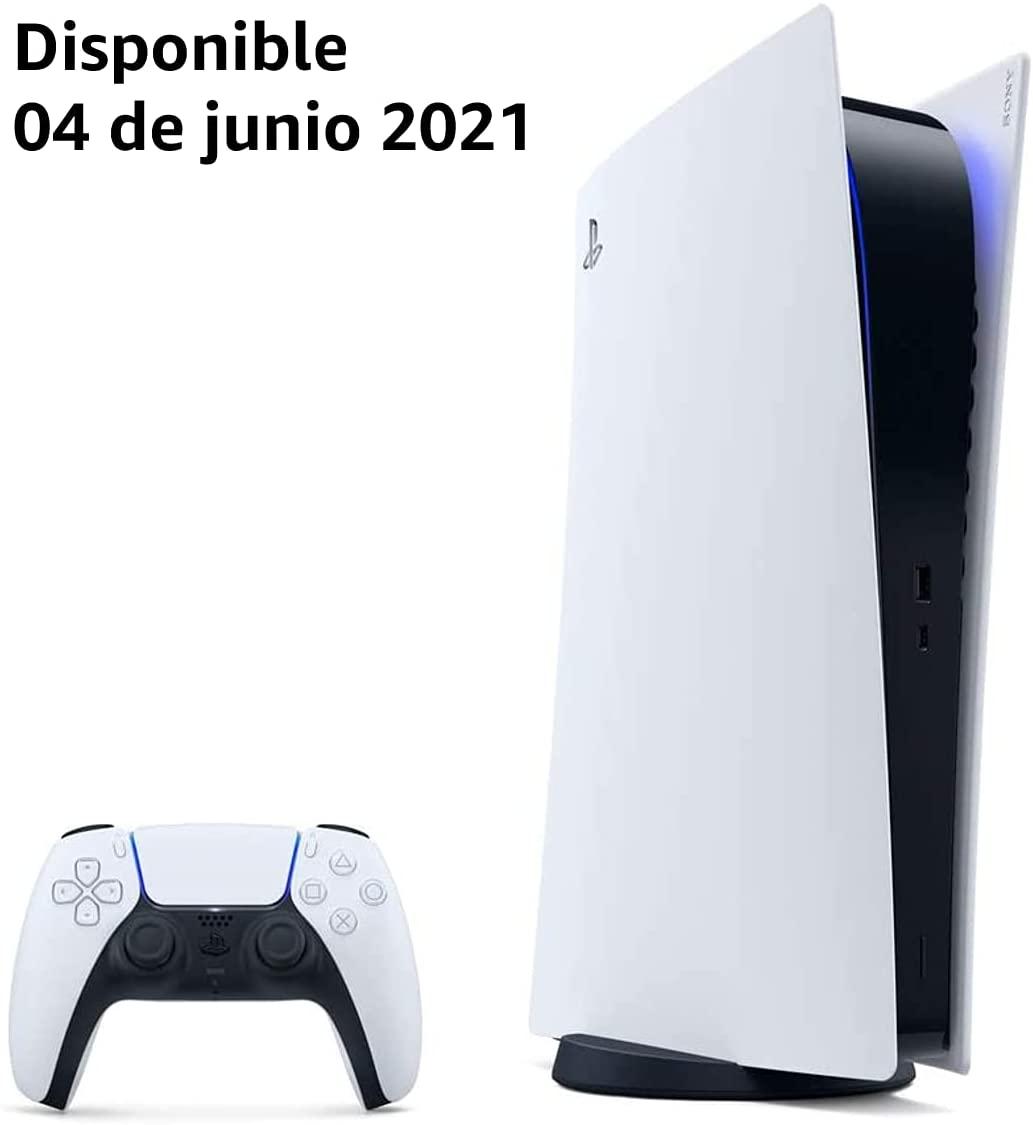 Consola PlayStation 5 Digital Edition (entrega desde el 04 de junio de 2021)