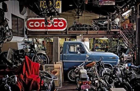 """Metzeler Classics """"Garages"""", el calendario del 2013"""