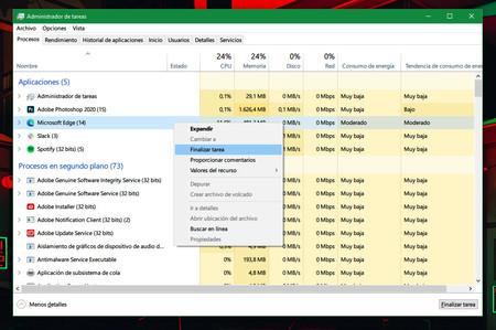 Windows 10 Administrador De Tareas Trucos