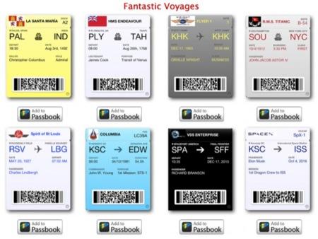 La imagen de la semana: usando Passbook para recrear momentos históricos