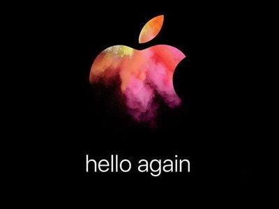 Apple celebrará un evento el 27 de octubre, nuevos Mac en camino
