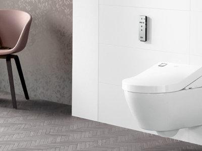 El ViClean-U+ es un inodoro que nos hará ahorrar agua y energía y mejorar la higiene en casa