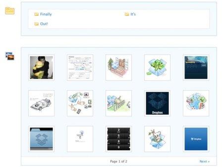 Dropbox simplifica las opciones para compartir archivos y carpetas