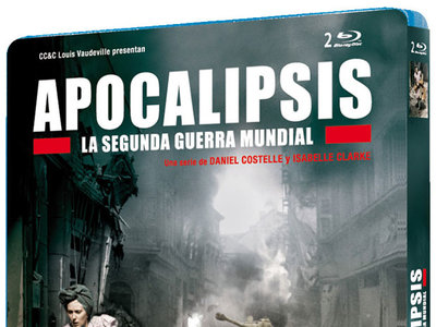 "La serie documental ""Apocalipsis: La Segunda Guerra Mundial"", en formato Blu-ray, por 10,36 euros"
