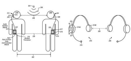 La última patente de Apple convierte los auriculares del iPhone en walkie-talkies