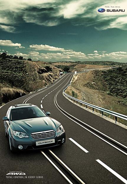 Subaru Outback de slot a escala 1:1