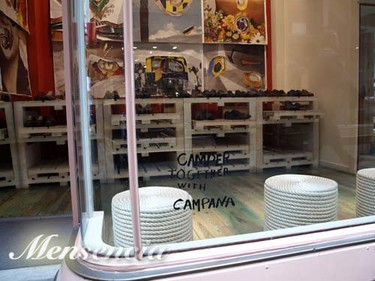 La tienda Camper Together de Old Bond Street, Together with Campana