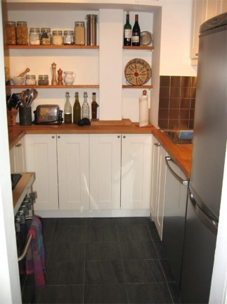 Una gran cocina en pocos metros for Cocinas en u