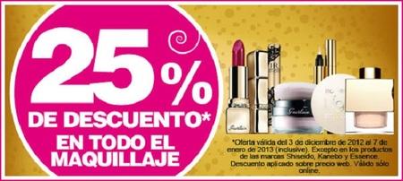 En Bodybell siguen los descuentos del 25% en maquillaje