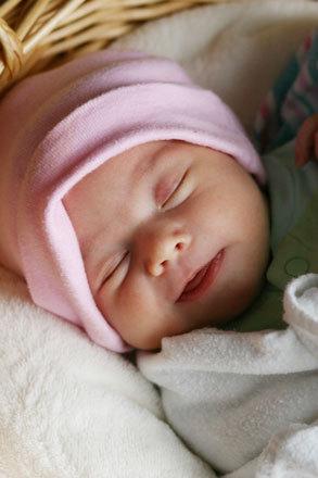 Sonrisa del recien nacido