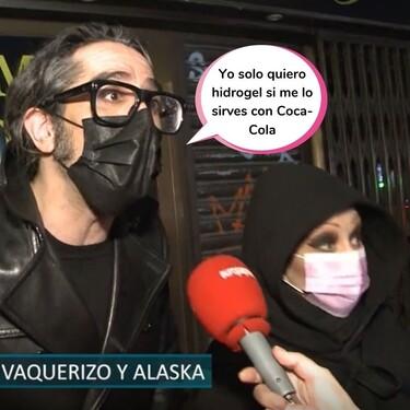 """Mario Vaquerizo y Alaska la lían parda al defender la """"valentía"""" de Victoria Abril y Miguel Bosé"""