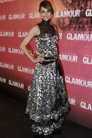 Goya Toledo de Josep Font en los premios Top Glamour