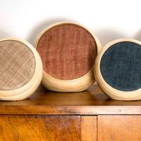 Estos curiosos altavoces Bluetooth están fabricados a mano con bambú
