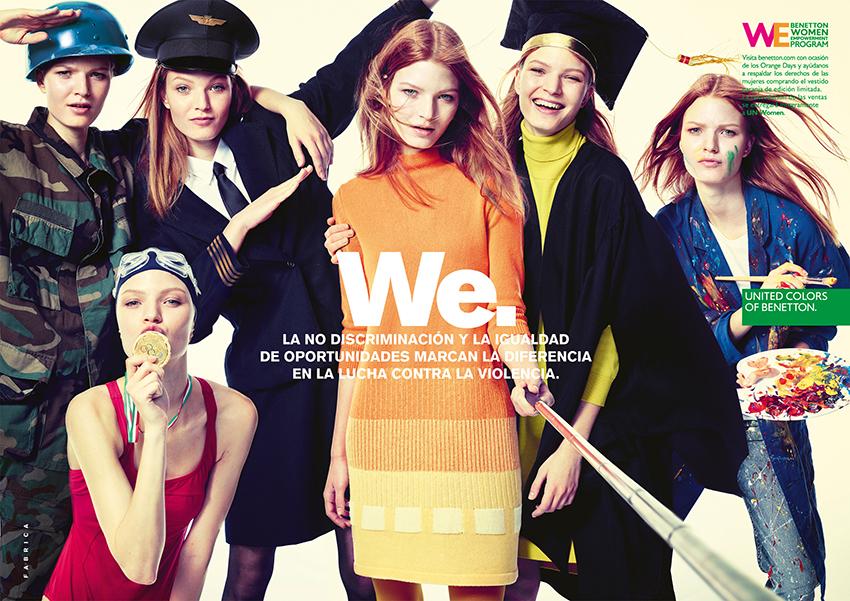 Foto de United Color of Benetton contra la violencia de género (3/4)
