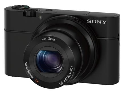 Sony RX100 de frente