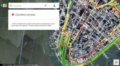 Google Maps ya se nutre de Waze para la información en tiempo real