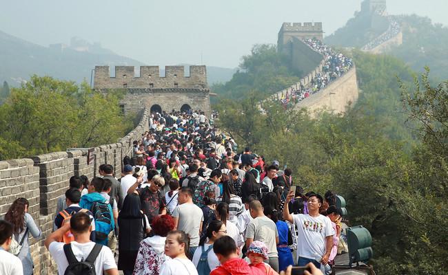 Con más de 1.200 millones de habitantes, el turismo ya es el país más poblado del planeta
