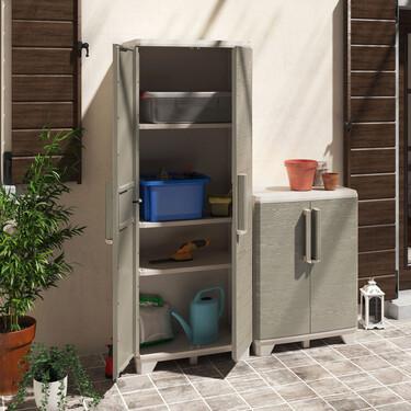 13 prácticos muebles de almacenamiento de exterior, para recoger jardín y terraza después del verano