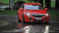 Opel Insignia OPC 2014, presentación y prueba en Frankfurt