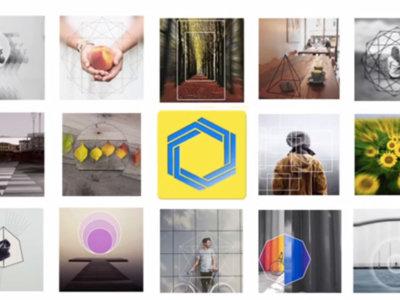 Overam, la app con la que las formas geométricas llegarán a tus fotos