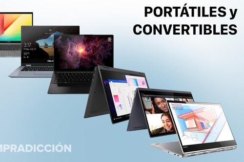 Ofertas en portátiles y convertibles Lenovo y ASUS en Amazon: estrena equipo el próximo curso gastando lo mínimo