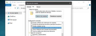 Cómo reabrir carpetas en Windows automáticamente tras reiniciar