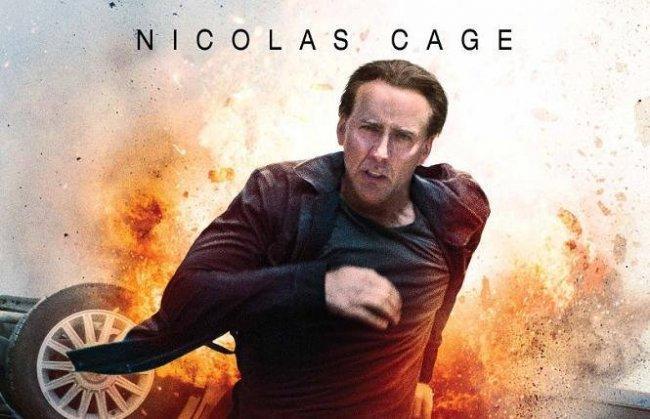 Imagen con el cartel de la película 'Contrarreloj'