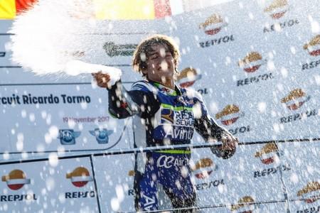 Andreas Pérez de 14 años ha fallecido tras el grave accidente sufrido en mundial Junior de Moto3