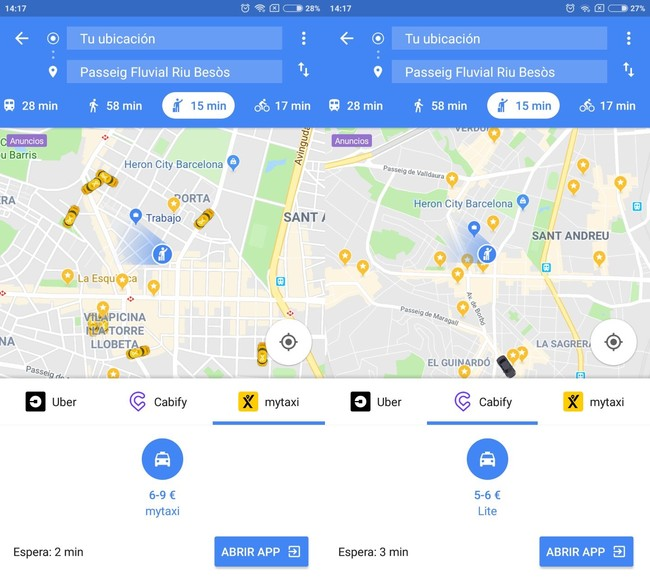 Uber Taxi Maps
