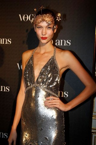 karlie kloss fiesta vogue paris
