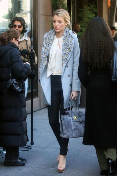 Estilos de calle Gossip Girl: looks contra el frío