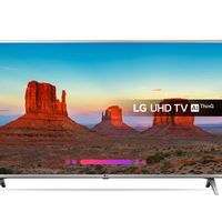 Smart TV LG 50UK6500 de 50 pulgadas, con resolución 4K, por 488,99 euros y envío gratis