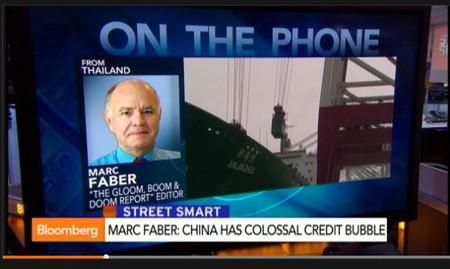 Marc Faber advierte que la desaceleración en China puede provocar una catástrofe