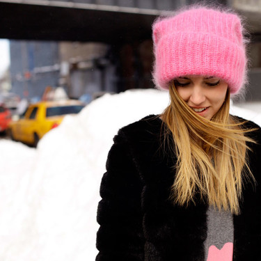 ¡No dejes que tus ideas se congelen! Viste tu cabeza con un gorro de lana