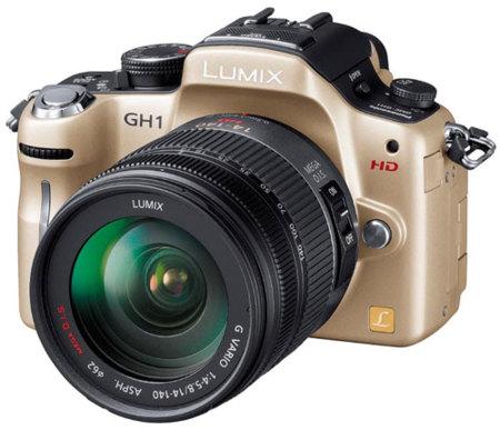 La Panasonic GH1 con vídeo a 1080p llega en abril