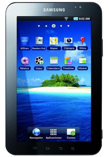 Samsung Galaxy Tab WiFi aparece en España por 369 euros