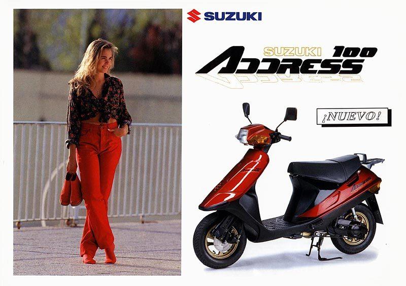 Motor Suzuki Address