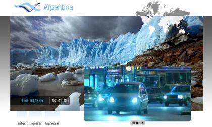 Argentina estrena portal de internet