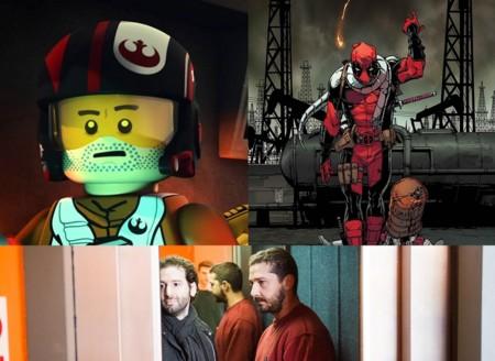 Hay más cine ahí fuera: Deadpool, Poe, Shia LaBeouf... y una precuela de Regreso al Futuro