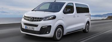 Opel Zafira Life: nueve plazas y más espacio para el eterno monovolumen reconvertido en furgoneta de pasajeros