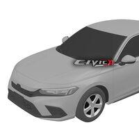 ¡Filtrado! El Honda Civic 2022 queda al descubierto con estos bocetos