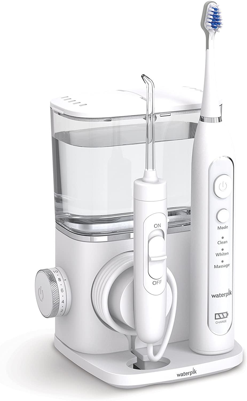Waterpik Complete Care 9.0 - Cepillo de dientes eléctrico sónico e irrigador bucal