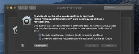 Filevault Mac Recuperacion