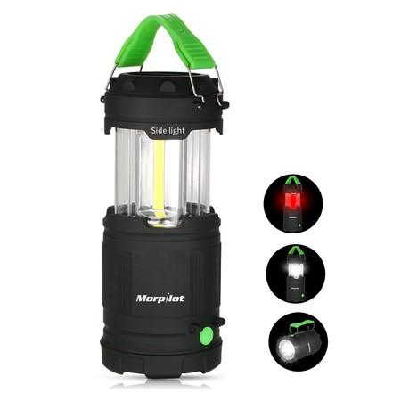 Cupón de 5 euros de descuento en la lámpara de camping LED Morpilot: aplicándolo se queda en 5,99 euros en Amazon