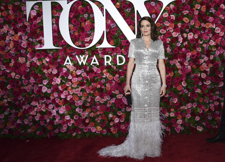 alfombra roja tony awards Tina Fey