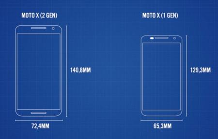 Moto X Frente A Anterior