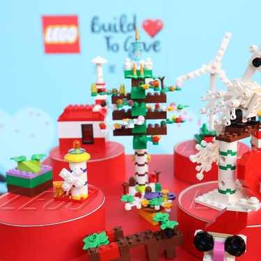 """Lego donará hasta un millón de juguetes esta próxima Navidad, a través de su campaña """"Build to give"""" (y tú puedes participar)"""