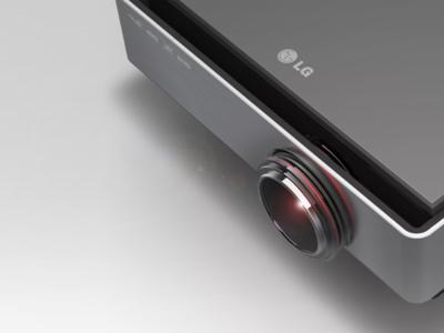 LG CF3D, proyector preparado para contenido 3D